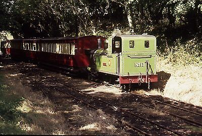 (424) Isle Of Man - Narrow Gauge - Kissack - Number 13 - 35mm Slide