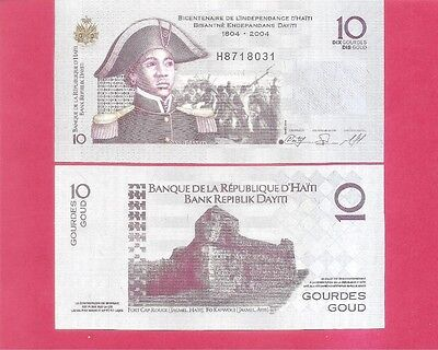 HAITI p272d - 10 gourde - 2010 Uncirculated