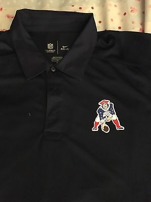 NFL New England Patriots Technical On Field Polo T Shirt featuring Dri Fit Tech