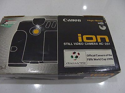 Cannon RC-251 ion Vintage Video camera