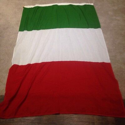 Rare ex Navy/military Italy Flag stitched