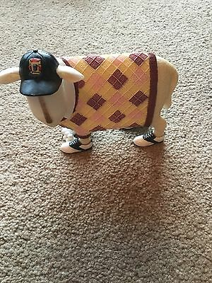 """Ewe and Me by Toni Goffe Sporting Ram Ornament - """"Sandy"""" Brand New in Box"""