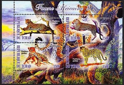 Chad Wildlife Sheetlet issue No 8