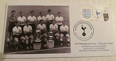 Tottenham Hotspur 1962 FA Cup Double First Day Cover FDC 1961 League Champions