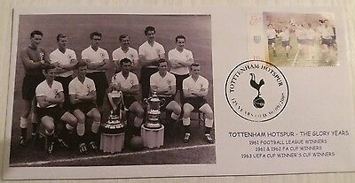 Tottenham Hotspur 1962 FA Cup Double Commemorative Cover 1961 League Champions