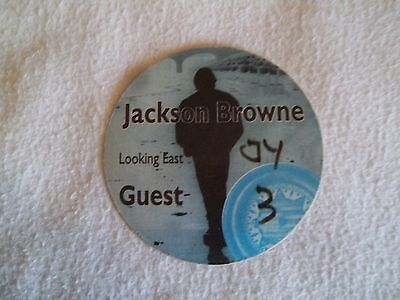 Jackson Browne Looking East CONCERT GUEST PASS