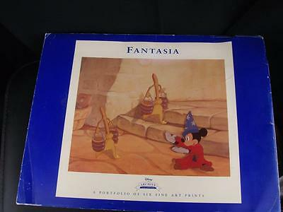 'Fantasia' Portfolio of six fine art prints from Disney the Archive collection