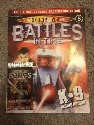 Doctor Who Battles In Time Issue 6 Collectors Magazine And Trading Cards