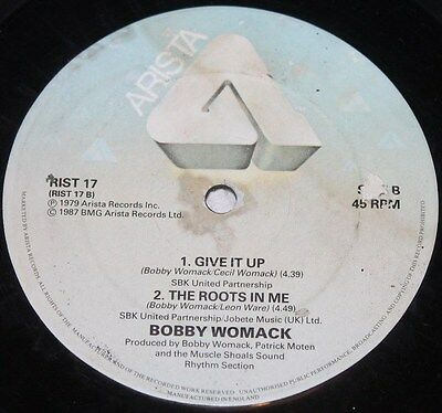 """BOBBY WOMACK * HOW COULD YOU BREAK MY HEART * Classic Soul Funk Boogie 12"""" Vinyl"""