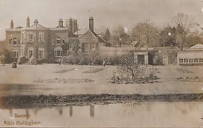 Rectory, Sible Hedingham. RP. Unposted.
