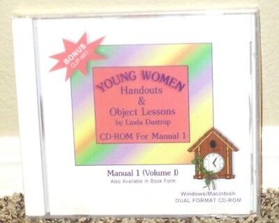 Young Women Handouts & Object Lessons CD-Rom Clip Art Lesson Helps LDS Mormon