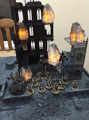 Table top 40k smoke marker and terrain (space marine)