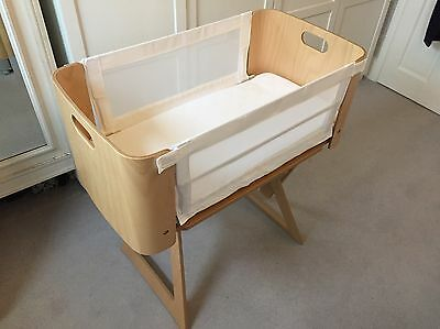 Bednest bedside co-sleeper cot / crib with Extras