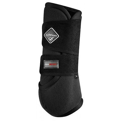 NEW PRODUCT LeMieux Prosport Support Boot - BLACK / SMALL / 13.2H PONY SIZE