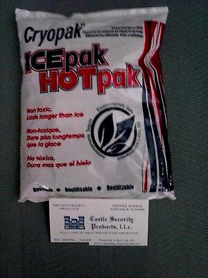 CRYOPAK Ice Pack Hot Pack Reusable Freezable Microwaveable Gel Cold & Hot Pack