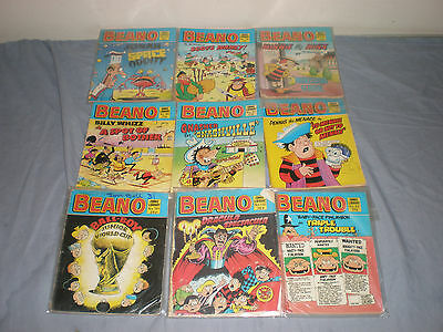 Job Lot Beano Comic Book Library Comics