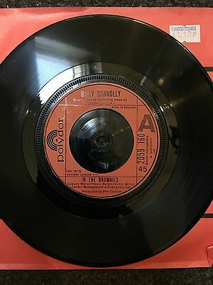 Billy Connolly - In The Brownies - Vinyl Single