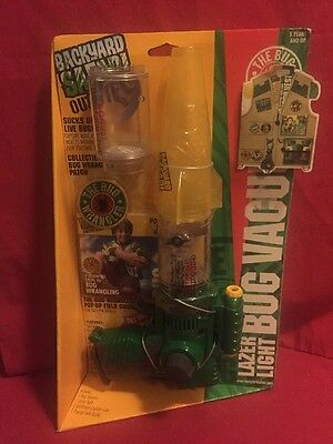 Backyard Safari Outfitters Bug Wrangler's Spider Vacuum New and sealed