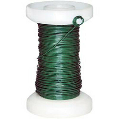 Green Floral Spool Wire 26g 65'/Pkg-