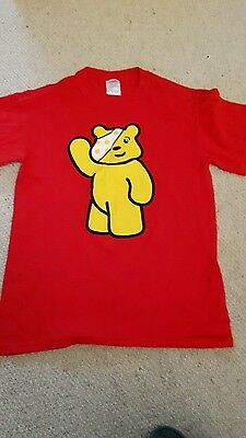 Pudsey children in need tshirt. Size small