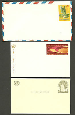 Collection Of Un. 2 Cards.  1 Aimail Env