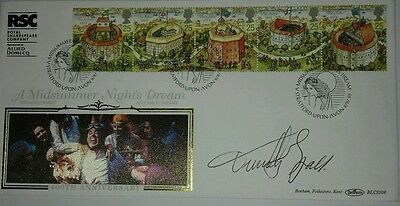 Timothy Spall signed first day cover.
