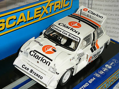 Scalextric - C3306 MG Metro 6R4 Per Eklund Scottish Rally 1986 - NEW