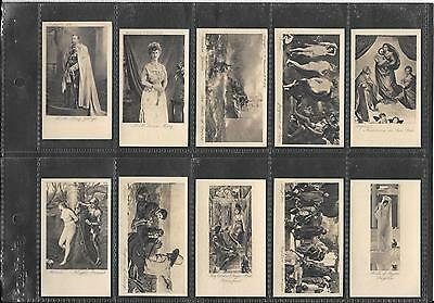 R & J Hill - World Masterpieces, 2Nd Series- 1914 - Full Set In Sleeves