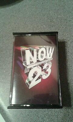 now23 now 23 double music tape cassette compilation