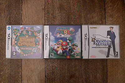 3 x Empty DS game boxes