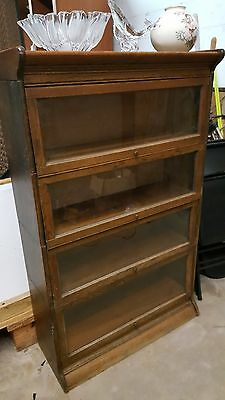 Antique 4 STACK BOOKCASE  nice condition