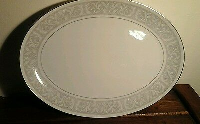 WHITNEY BY IMPERIAL CHINA  (Japan) - LARGE OVAL PLATTER -  VINTAGE 1960's, 70's