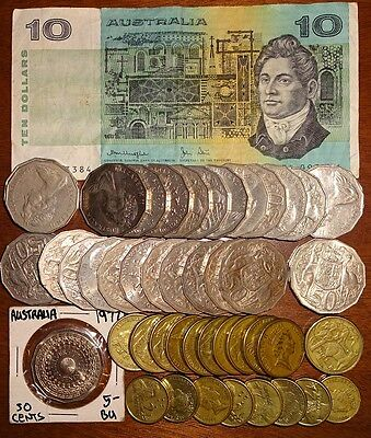Lot For Collection Or Exchange Australia 55.50 Dollars Face !!!!