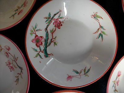 JAPANESE CHERRY BLOSSOM-ENGLAND- c.1880's- BERRY BOWL(s)- RARE!! EXCELLENT!!!