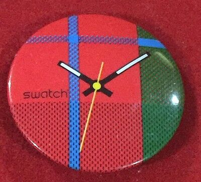 Vintage 1980's Swatch Watch Promotional Pin/Button #101