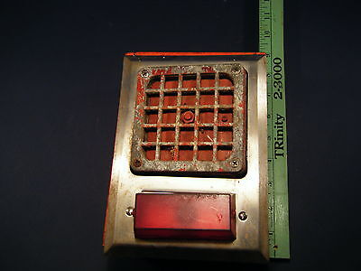 VINTAGE SIMPLEX SCHOOL FIRE ALARM BELL VINTAGE CAST IRON complete and tested