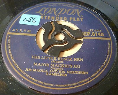 Jim Magill & Ramblers 4 Track Ep Inc The Little Black Hen   7""