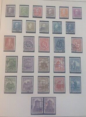 Denmark nice early lot on page Used