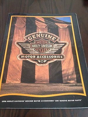 Harley Davidson 1996 Parts & Accessories Brochure USA Printed FXR Dyna Softail