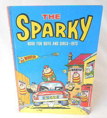 The Sparky Book for Boys and Girls - 1973