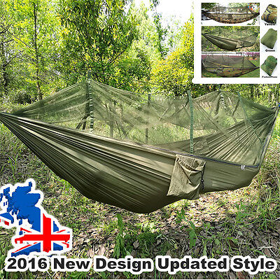 Multiuse Portable Hammock Camping Survivor Hammock with Mosquito Net
