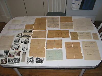 Displaced Persons Camp Documents WWll & Emigration to U.S.A. Family Papers