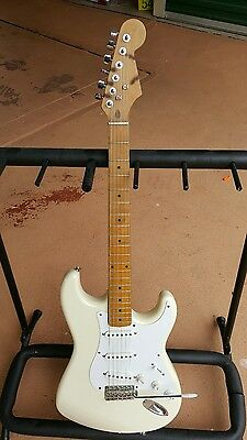 Fender 1989 Stratocaster MIJ Electric Guitar body only the neck is old