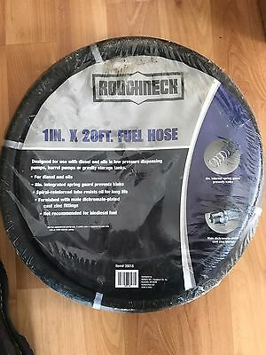 Roughneck Nongrounded Multipurpose Fuel Hose - 1in. x 20Ft., Model# 98108564