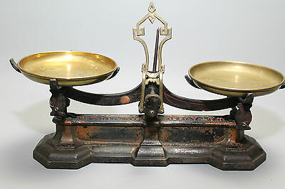Antique Set of Avery Scales by W&T Avery with Brass Trays