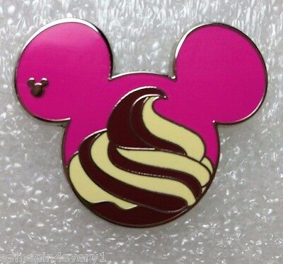 Disney Pins DLR - 2015 Hidden Mickey Food Series - Dole Whip Only