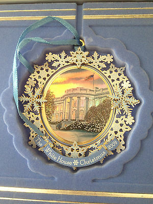 2009 WHITE HOUSE HISTORICAL ASSOC CHRISTMAS ORNAMENT White House Tree Trimming