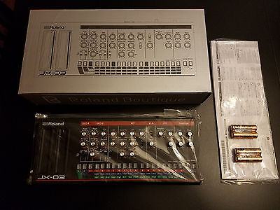 Roland Boutique JX-03 Limited Edition Synthesizer Module - NEW!