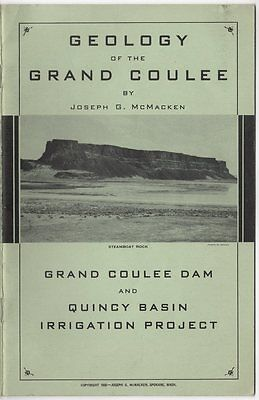 Geology of Grand Coulee / Dam & Quincy Basin Irrigation Project, McMacken, 1936