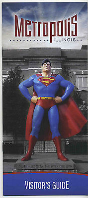 Vintage 2004 METROPOLIS, IL Visitor's Guide Booklet - HOME OF SUPERMAN